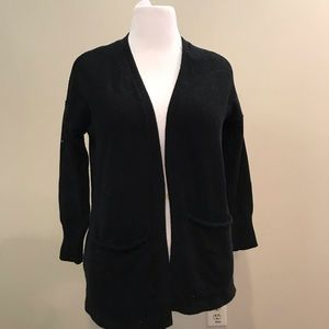 American Eagle Outfitters Black Cardigan